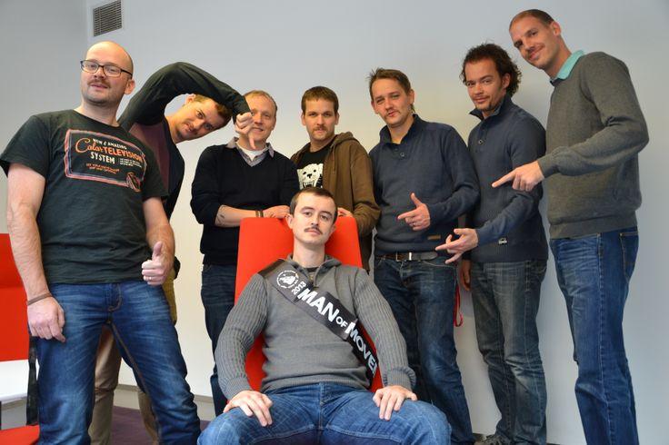 Náš letošní mo-team a mo-král. #movember