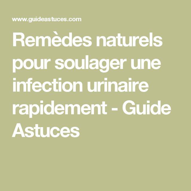 Remèdes naturels pour soulager une infection urinaire rapidement - Guide Astuces