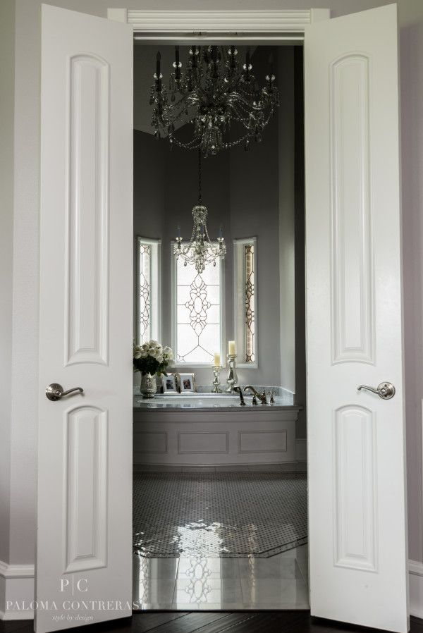 Very romantic master bathroom. (Project Reveal: A ...