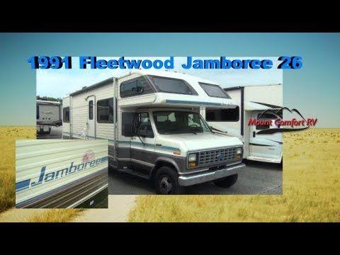 Quick Take 1991 Fleetwood Jamboree 26 Mount Comfort Rv Fleetwood Rv Comfort
