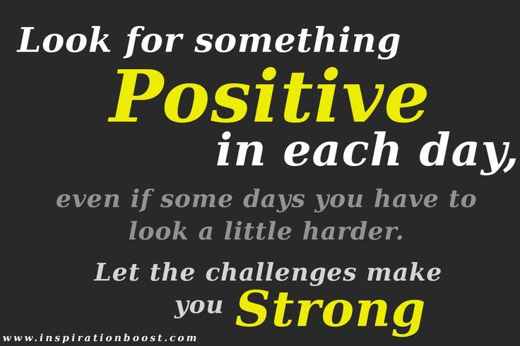 Be positive make positive changes !!