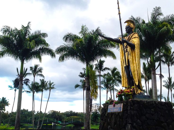 Hilo was King Kamehameha I's first seat of government and this statue, dedicated in 1997 at Wailoa State Park, is the tallest of the four statues at 14 feet. Have you visited any of the statues?   http://www.gohawaii.com/statewide/guidebook/king-kamehameha  #gohawaii