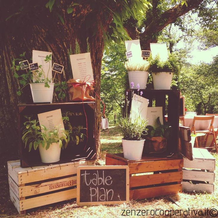 #Wedding table-plan with #herbs