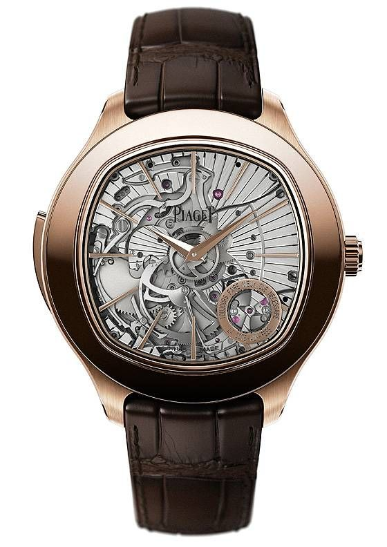 """Piaget has announced the launch of its first minute repeater timepiece, set to debut at next month's SIHH watch fair in Geneva. In the brand's tradition of historically thin watches and mechanical movements, the new watch sets another record for slenderness in its category: only 4.8 mm thick for the caliber and only 9.4 mm for the case."" ~narrative from blog #PurelyInspiration #piaget"