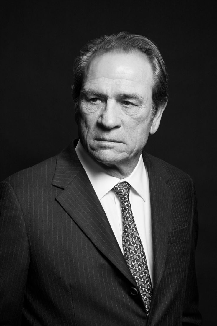 Tommy Lee Jones...is a handsome man.
