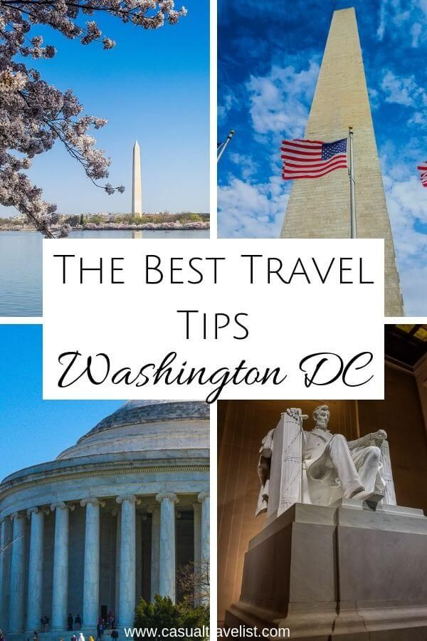 25 Tips for your First Trip to Washington DC.