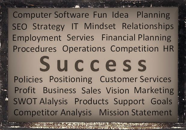 What is business success?  Let www.The-Admin-Manual.com tell you.  All the business keywords you need when running a business.