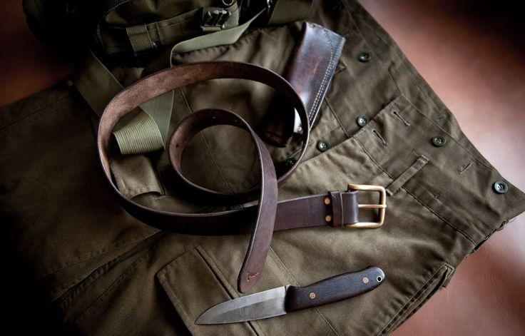#leather #belt #gift #handmade #steelrabbit #knife #sheat #bushcraft
