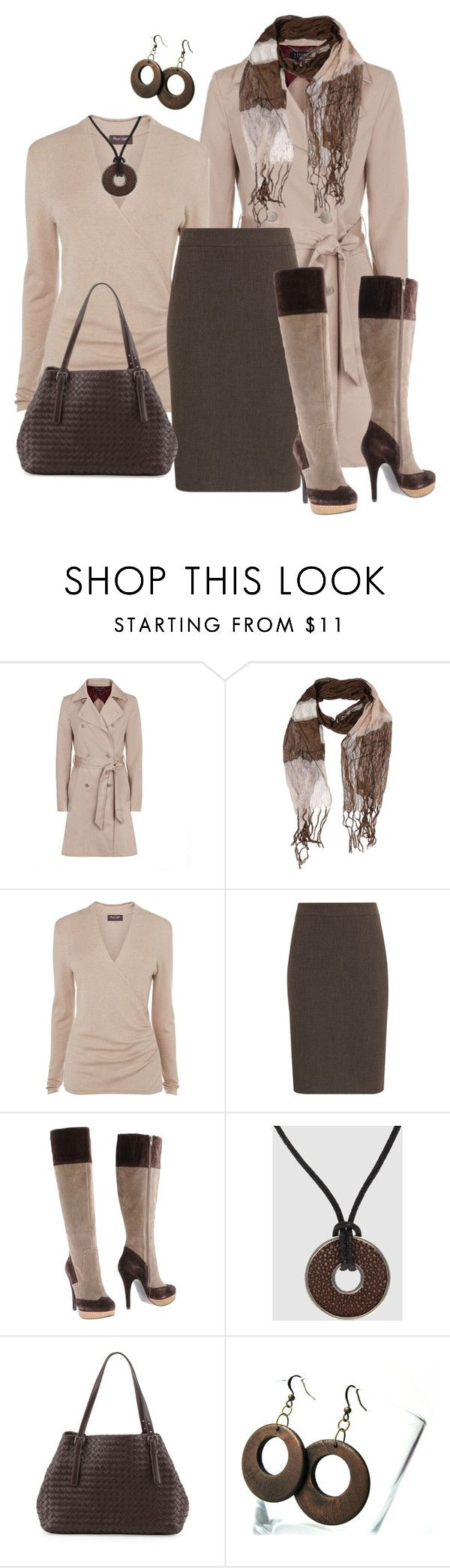 """""""Love those boots"""" by striplingmom-1 ❤ liked on Polyvore featuring Escada Sport, New York Industrie, Phase Eight, Planet, Tosca Blu, VIVO and Bottega Veneta"""