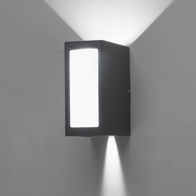 Outdoor Wall Light Led Log 9w Modern Exterior House Designs