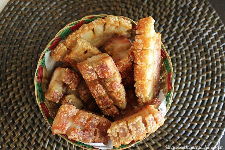 Chicharrones colombianos ( estupendos para el colesterol...)