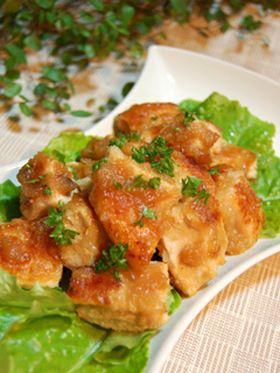 Tender Chicken with Onion Marinade
