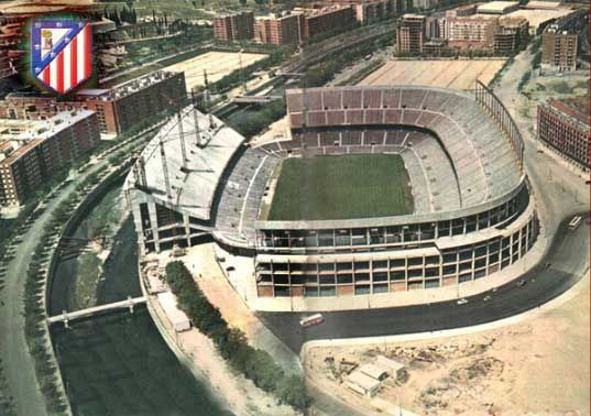 Vicente Calderon, Atletico Madrid in the 1990s.