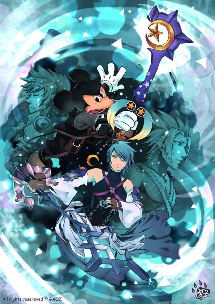 Kingdom Hearts 2.8 -fragmentary passage - by gaoasmegu09.deviantart.com on @DeviantArt