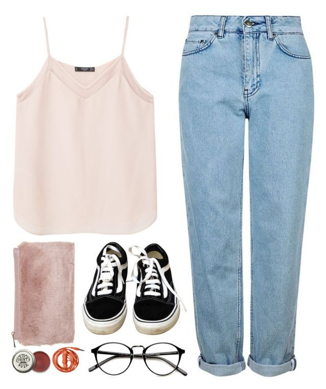 """""""Aromaco"""" by soym ❤ liked on Polyvore featuring MANGO, Topshop, Vans, Miss Selfridge and White Diamonds"""