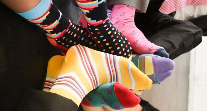 New Trendy Socks Delivered To Your Home Once A Month? - Pink Diva Cafe