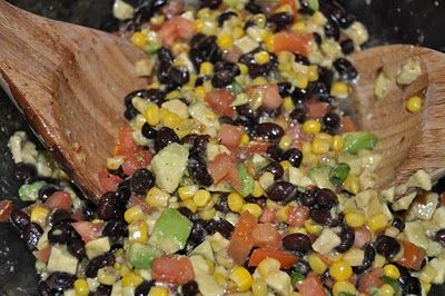 Cowboy Caviar.. this one is made with italian salad dressing added.