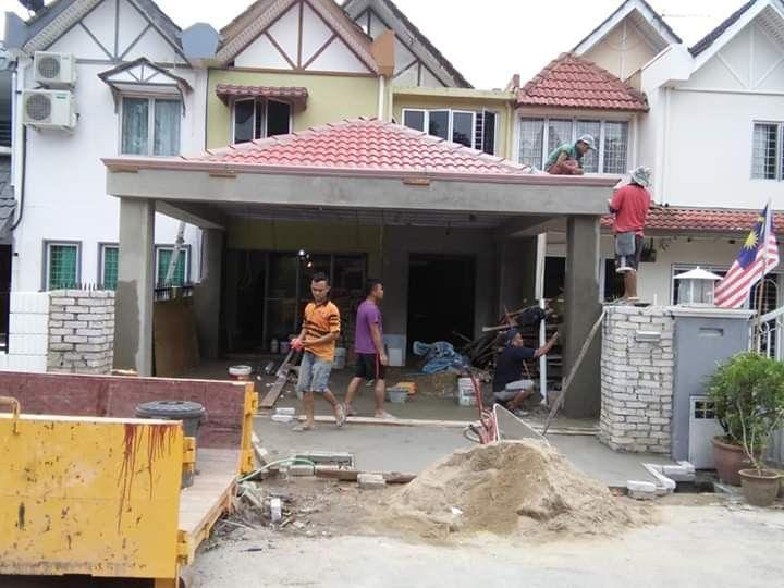 Desain Rumah 3 Bilik 2 Tandas