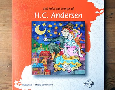 """Check out new work on my @Behance portfolio: """"coloring book on fairy tales by Andersen"""" http://be.net/gallery/48102679/coloring-book-on-fairy-tales-by-Andersen"""