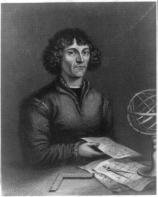 [Nicholas Copernicus, half-length portrait, seated]