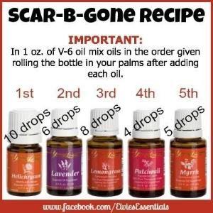 Young Living Essential Oils: Scar by tiggyrn