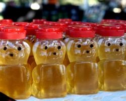 1/2 teaspoon Honey = cough relief for toddlers