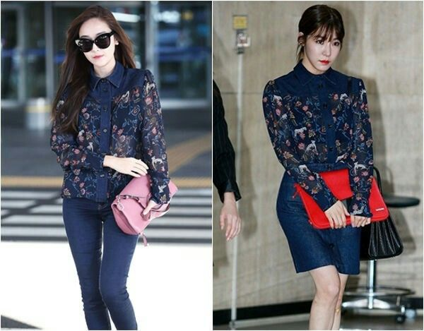Jessica Jung X Tiffany Hwang  Omona!!! This two is such a cutie pie  I like Sica style more