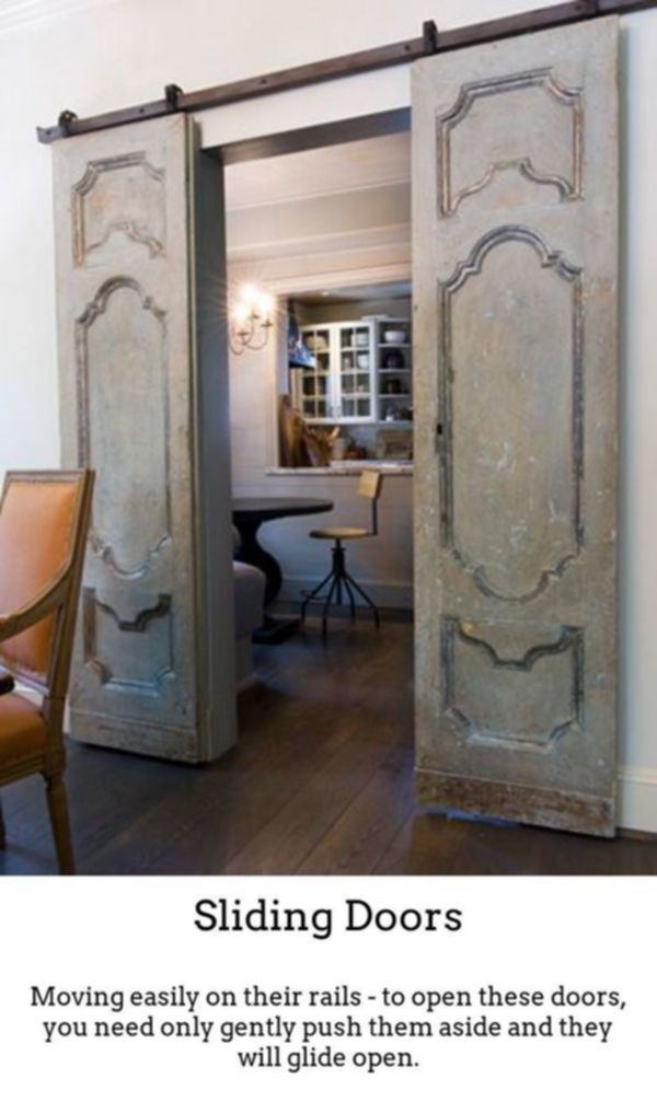 Sliding Doors Produce Your Own Lovely Vibrant Room Designs With The Help Of Thermally Insulated Sliding And Col Interior Barn Doors Home French Country House