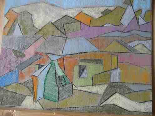 ruina y duna en Torreira