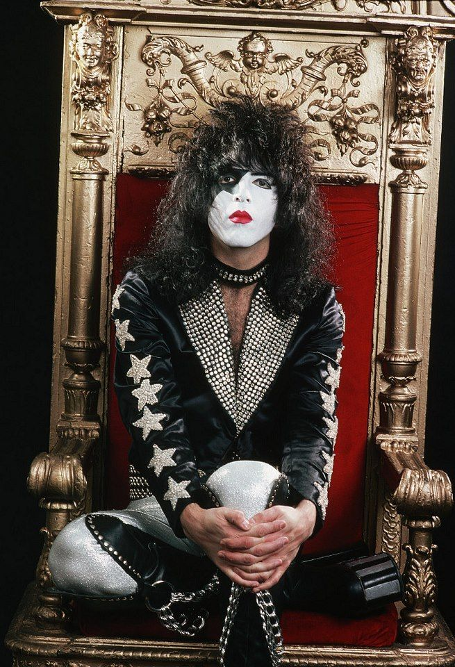 Gene Simmons is kind of a jerk (and by kind of I mean MAJORLY) but I actually really like Paul Stanley.