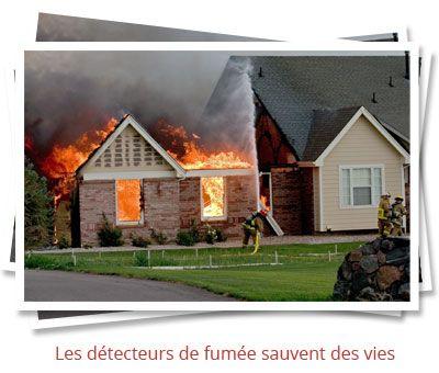 Les détecteurs de fumée sauvent des vies