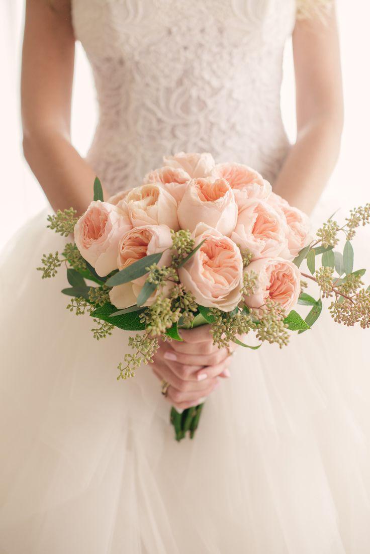 Garden rose bouquet: http://www.stylemepretty.com/2015/05/14/romantic-rustic-boca-raton-wedding/ | Photography: Starfish Studios - www.starfishstudiosfl.com/