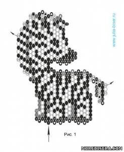 Esquema de cebras - Animales - Planes tejiendo perlas - artículos del Tesoro - la armadura de cuentas adornos, árboles y flores, el esquema u