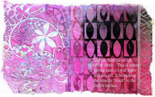 Sun Printing by Elise Buskey via Marjie Kemper's Weekly Tuesday's Tutorials Blog Series, Week 52