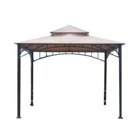 Replacement Canopy for Target Madaga Gazebo - Beige by Garden Winds. $98.99. THIS BEIGE COLOR IS NOT THE SAME COLOR AS YOUR ORIGINAL CANOPY.  THIS BEIGE IS MUCH LIGHTER!!!. THIS PRODUCT INCLUDES THE REPLACEMENT CANOPY ONLY, SIDE MOSQUITO NETTING NOT INCLUDED!!!. This replacement canopy fits the Target Madaga gazebo.  Target sold the Madaga for multiple years, this canopy fits all Madaga gazebos.. The Sunjoy model numbers of the gazebos this canopy is designed to replace ar...
