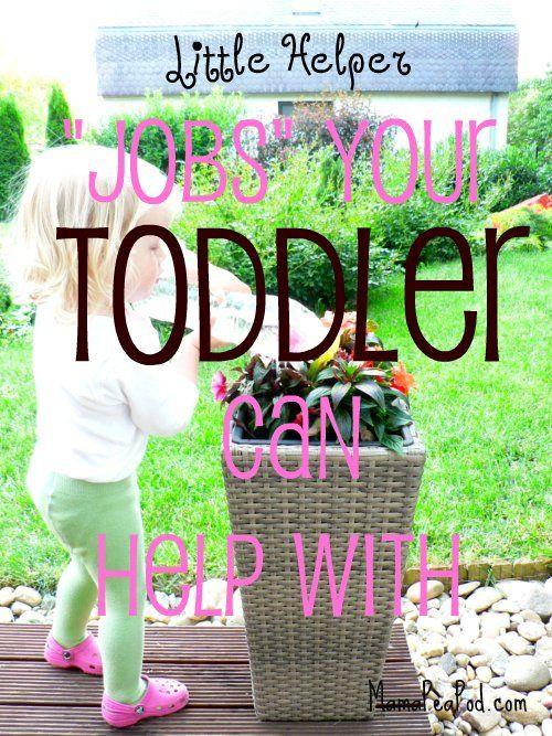 "Mama Pea Pod: {Toddler Chores for Little Helpers: ""Jobs"" Your Toddler Can Help With""}"