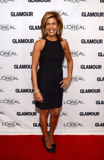 Hoda Kotb at Glamour's Women of the Year Awards