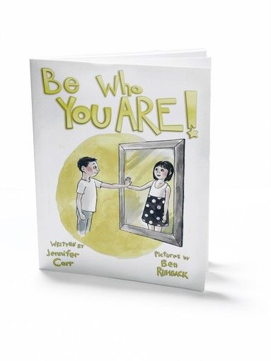 """Meeting the challenge of a transgender child  In """"Be Who You Are,"""" a children's book starring a gender non-conforming child, Chicago writer Jennifer Carr tells the story of her family's support for her son when he announced he feels like a girl inside."""