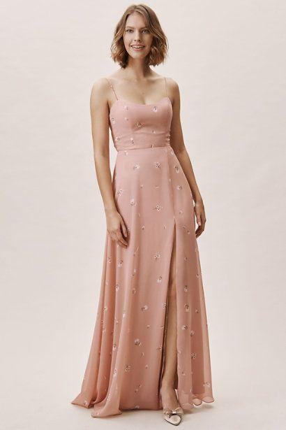 1a31996a6ba Ditsy Floral Print Whipped Apricot Kiara Dress