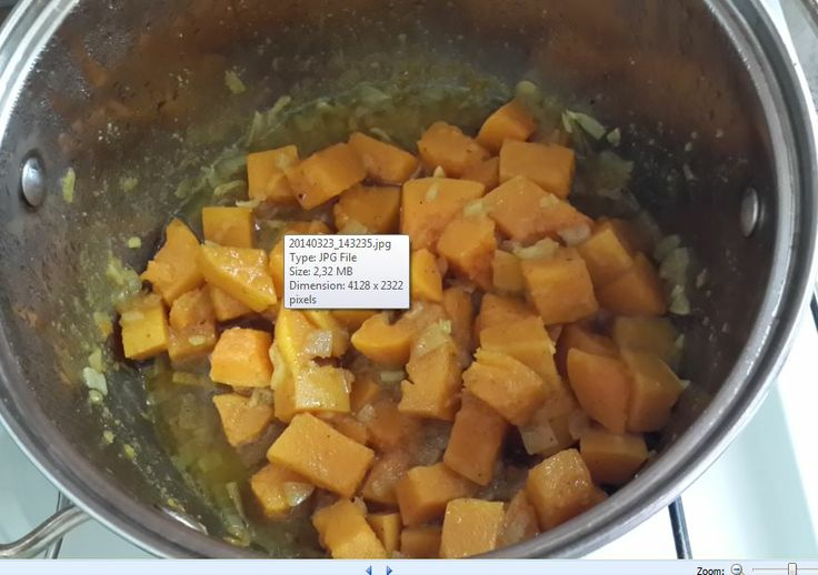 3. stewed pumpkin with garlic, onion and curry