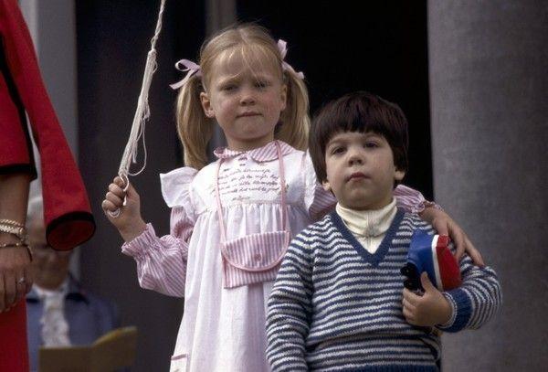 Bernardo avec une cousine
