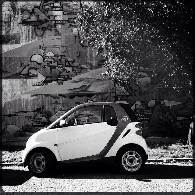 #car2go #smartcar In Black & White