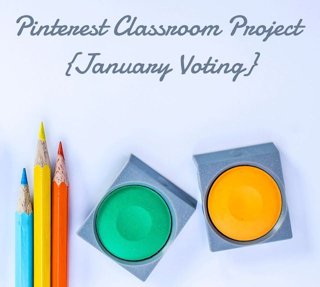 Pinterest Classroom Project {January Voting} - Living in Wonderland