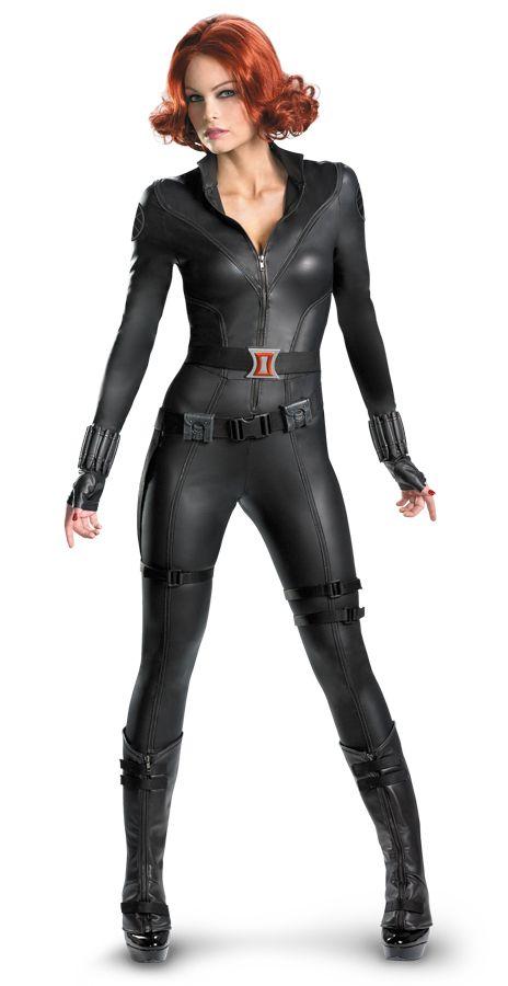 Avenger's Black Widow Halloween Costume