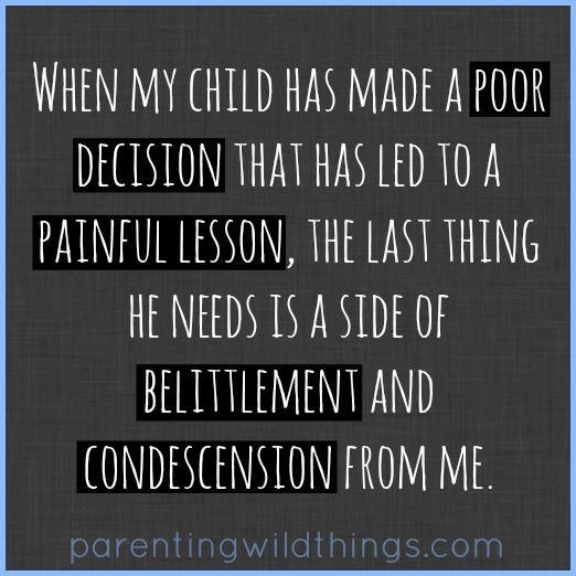 Parenting...biggest challenge, biggest joy.