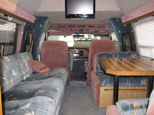 My Camper Van Interior 1986 Ford Class B Van Conversion