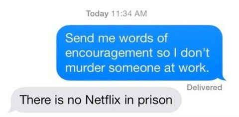 Because when your back is against the wall, there's only one person who can help you.   27 Texts You'd Only Get From Your Best Friend