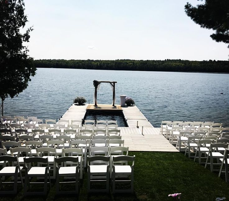 We had the opportunity to do coordination and decor for a beautiful wedding at the brides family home! Let's just say, we fell in love. A ceremony with a view! Waltzly (@waltzlyevents) on Instagram
