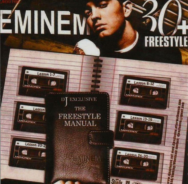 EMINEM - FREESTYLES CD Rare Mixtape Compilation
