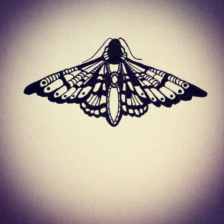 die besten 17 ideen zu motten tattoo auf pinterest schwarze tattoos tattoo zeichnungen und. Black Bedroom Furniture Sets. Home Design Ideas